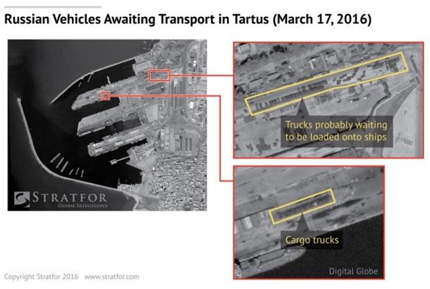 РФ перебросила в Сирию новую технику - Stratfor