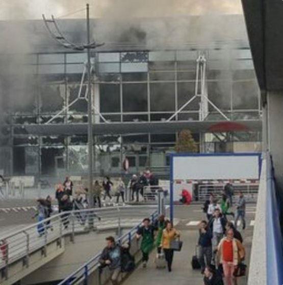 В аэропорту Брюсселя прогремели взрывы