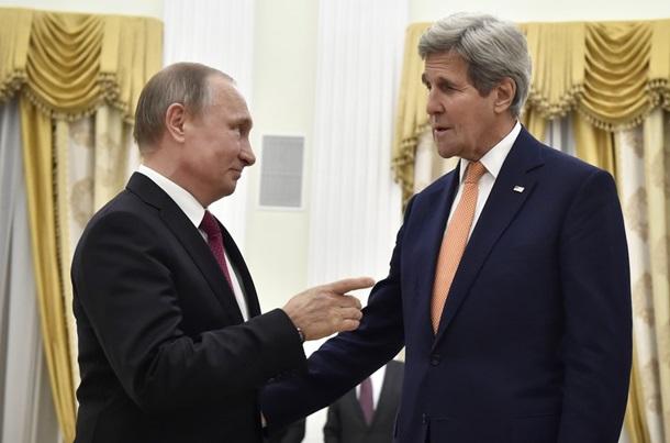 Руины Макеевки и Керри в гостях у Путина: фото дня