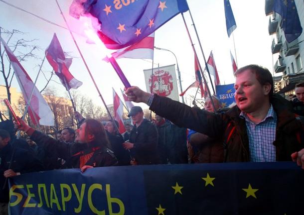 В Беларуси прошла демонстрация против Лукашенко