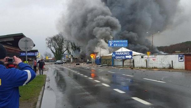 На польско-немецкой границе произошел взрыв