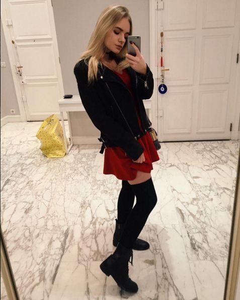 Дочь Пескова подрабатывает продавцом в Париже
