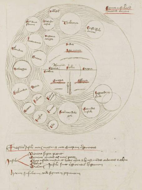 Вчені виявили середньовічну  Карту Пекла