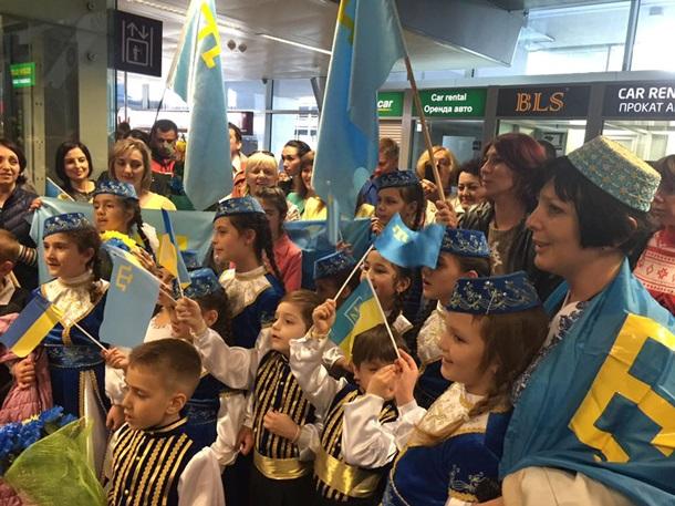 Джамала вернулась в Украину