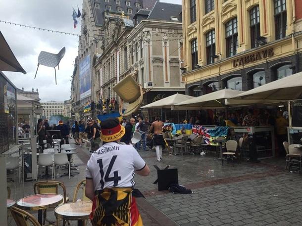 У Франції побилися українські та німецькі фанати