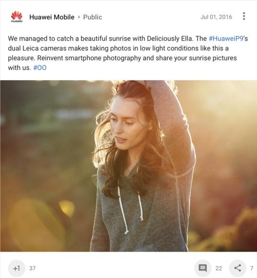 Huawei видала знімки з Canon за фото зі свого смартфона