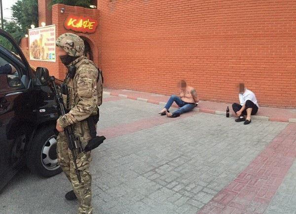 Работники СБУ задержали банду киллеров