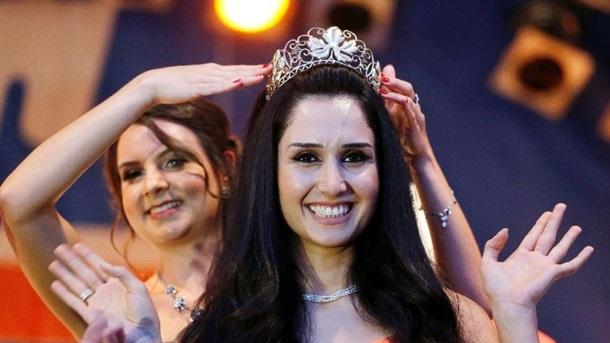 Беженка изСирии признана вГермании королевой красоты