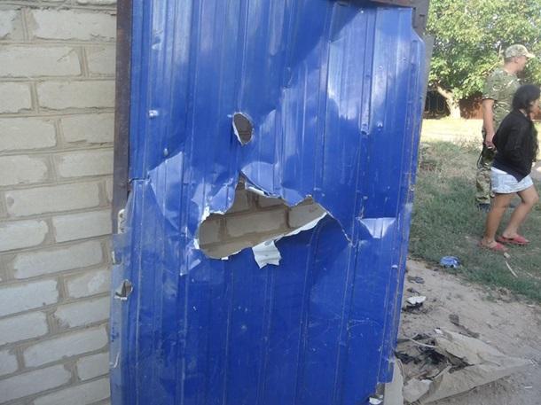 ВТорецке боевики обстреляли дома местных граждан