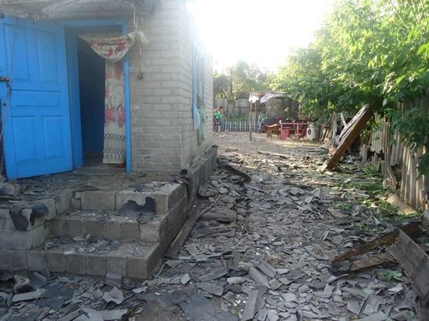 ВТорецке в итоге обстрела пострадал ребенок