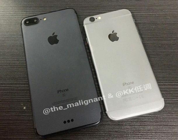 Черный iPhone 7 Plus вновь попозировал перед камерой