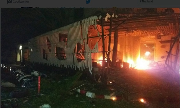 Возле отеля в Таиланде взорвалась бомба
