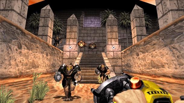 Переиздание Duke Nukem 3D анонсируют ссамого начала сентября