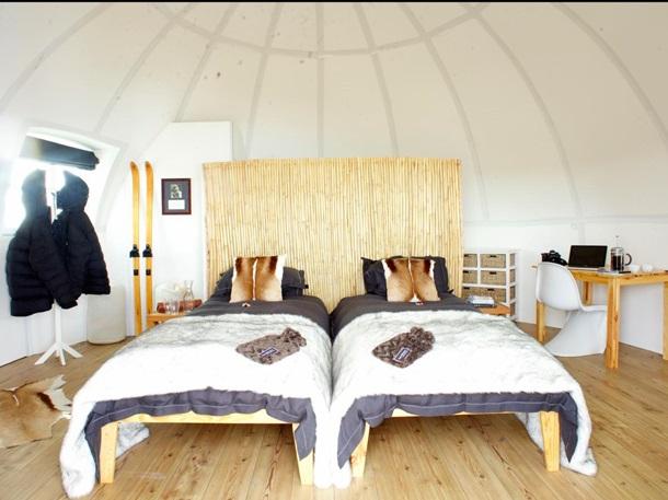 СМИ показали роскошный антарктический отель