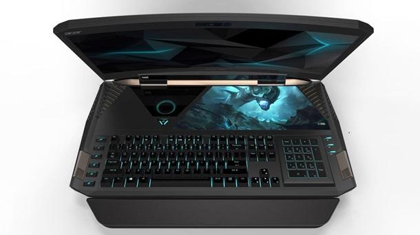 Acer представила ноутбук с изогнутым дисплеем