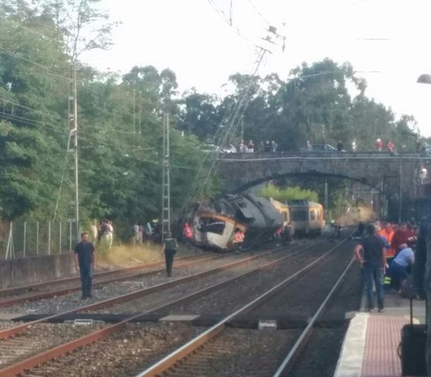Граждан России нет среди погибших при крушении поезда вГалисии