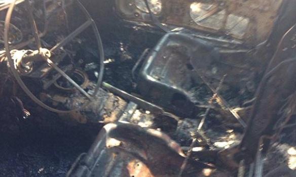 ВДнепре мужчина грозил взорвать себя и супругу иподорвал свое авто