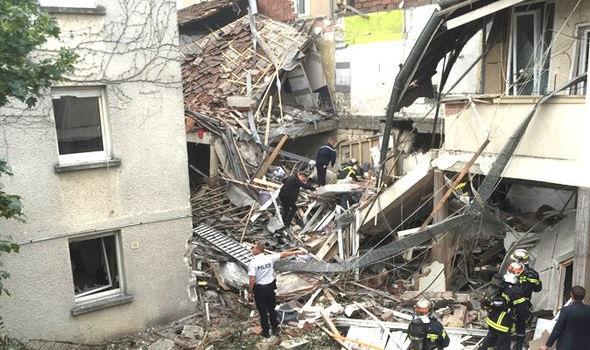 Вцентре французского города Дижон произошел взрыв, большое количество раненых