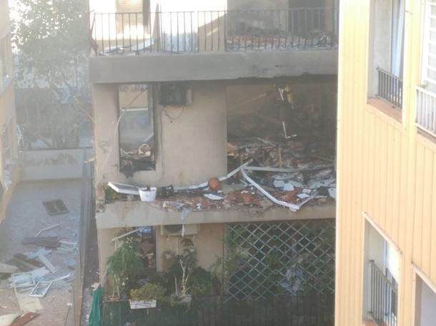 Вжилом доме вИспании произошёл взрыв