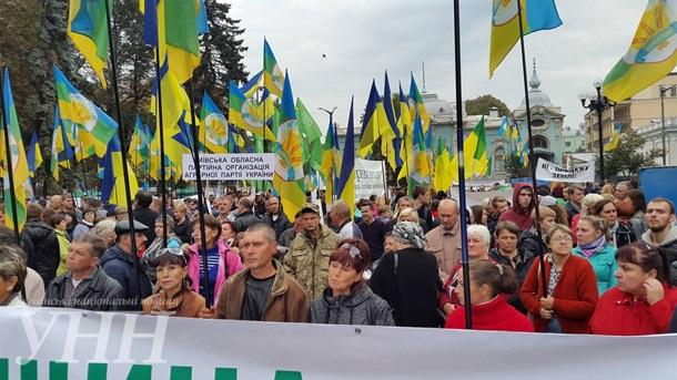 Украинские крестьяне требуют отРады запретить «земельную аферу»