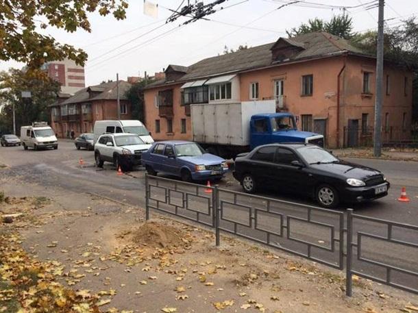 Нетрезвый руководитель Черниговского облсовета попал ДТП