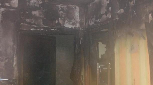 ВКиевской области вовремя пожара погибли двое малолетних детей