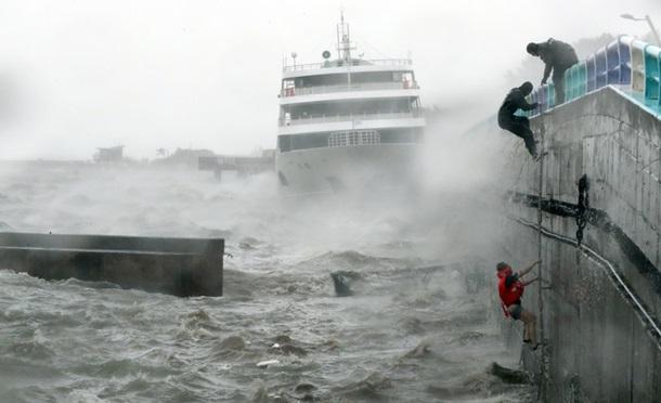 Жертвами тайфуну в Південній Кореї стали семеро осіб