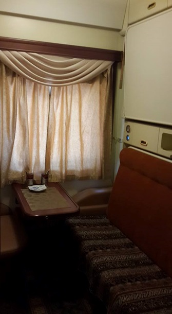 В Сети появились фото нового люкс-вагона Укрзализныци