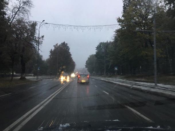 ВВинницкой иХмельницкой областях выпал снег (КАРТА)— Синоптик