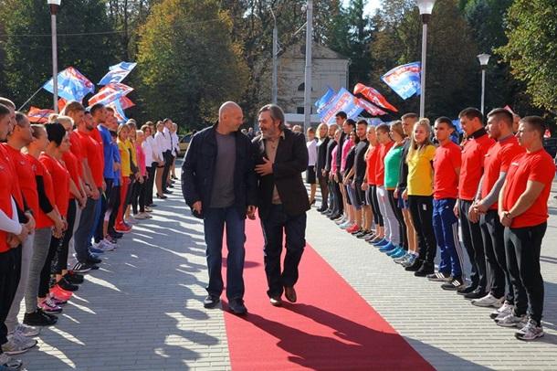 Игорь Палица и Дмитрий Екимов открыли новый Sport Life в Луцке - Korrespondent.net