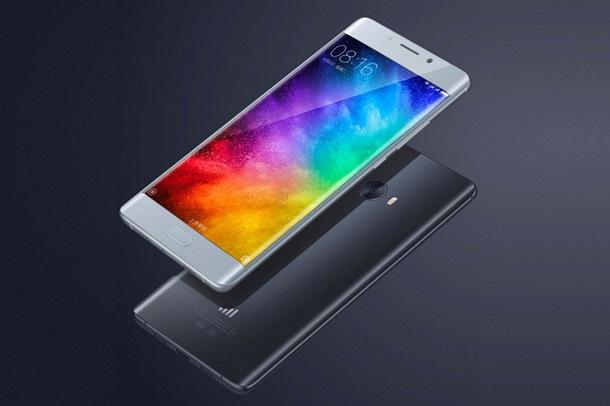 Xiaomi представила мощный флагман Mi Note 2