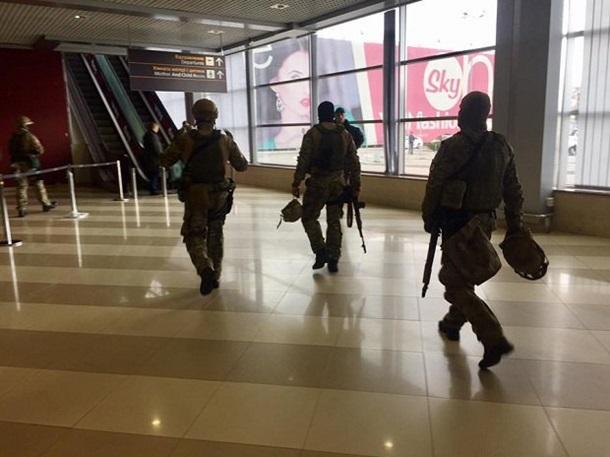 Ваэропорту «Борисполь» спецназ КОРД охотился на«русскую мафию». Опубликованы фото, видео