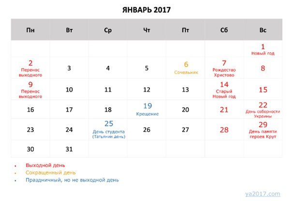 Сколько дней будут отдыхать на новый год в россии 2018