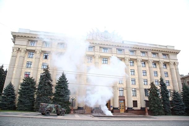 НаХарьковщине закончился 1-ый этап контрдиверсионных учений