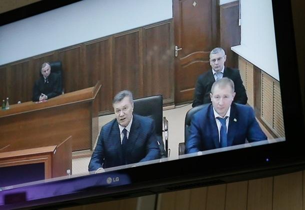 Януковича допросили повидеосвязи из столицы Украины