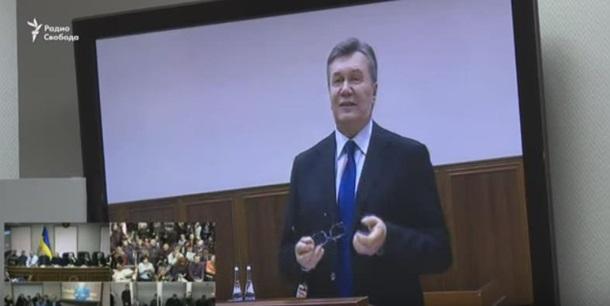 Допит Януковича: дивитися онлайн