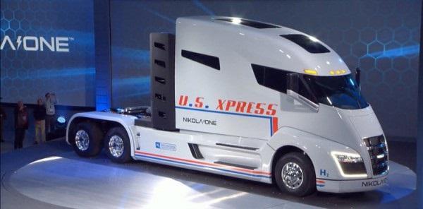 В США показали первую водородную грузовик
