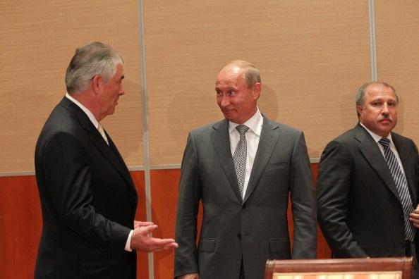 Ще один друг Путіна. Голова Exxon як держсекретар