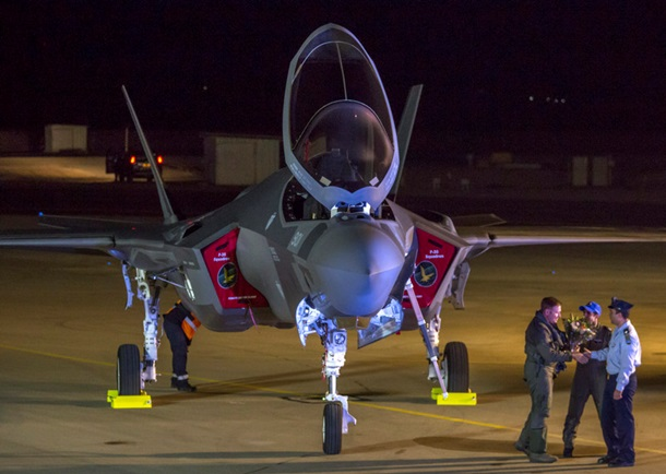 США поставили Израилю первые истребители 5-ого поколения F-35
