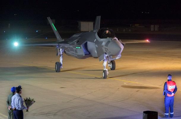 Ізраїль отримав першу партію винищувачів F-35