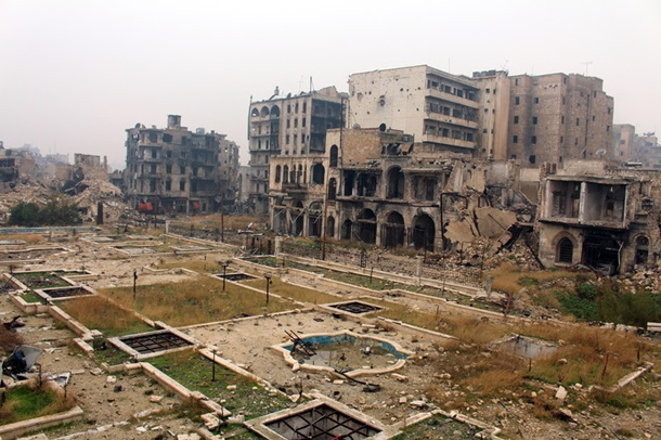 Алеппо больше нет: уничтоженный штурмом город (фото: ЕРА/UPG)