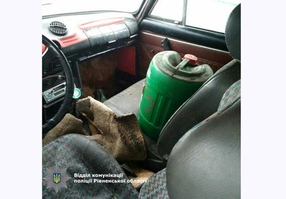 Впроцессе погони вРовенской области пострадал полицейский