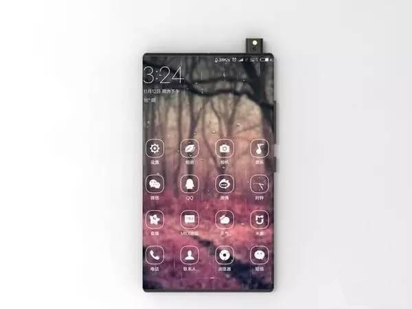 Безрамковий Xiaomi Mi Mix 2: з явилися перші рендери