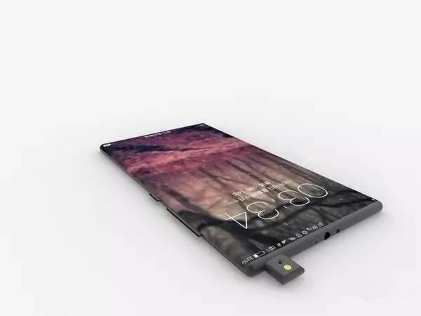 Безрамочный Xiaomi Mi Mix 2: с появились первые рендеры