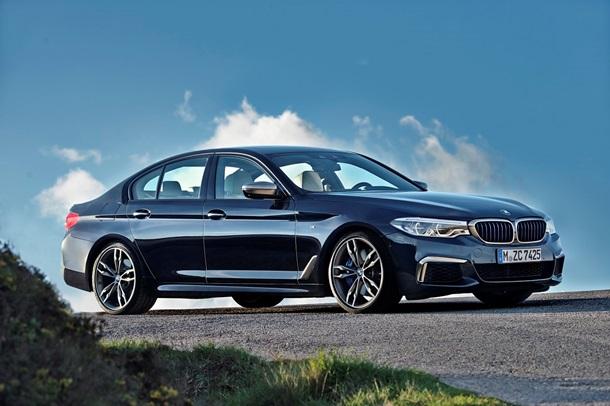 BMW представила мощную обновленную п ятірку