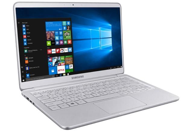 Samsung представила самый легкий ноутбук