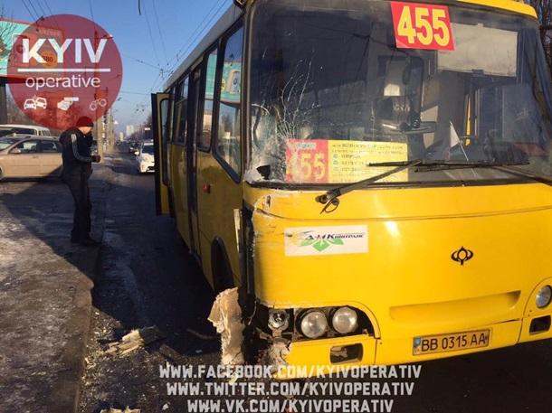 ВКиевской области случилось ДТП, есть пострадавшие