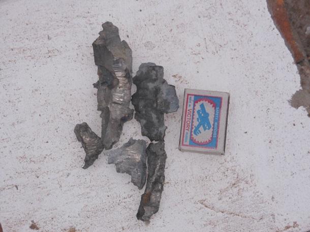 Храм вДебальцево попал под огонь артиллерии