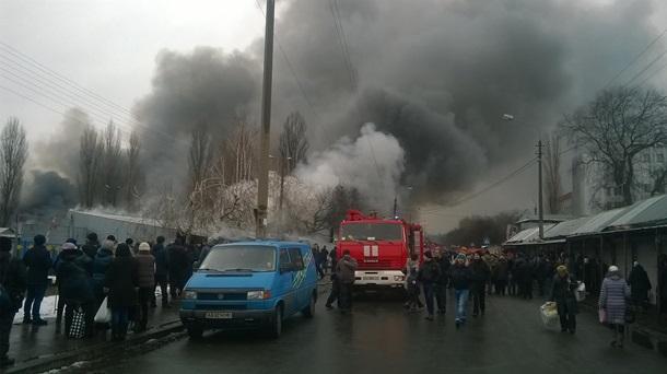 Cотрудники экстренных служб устранили пожар настоличном Дарынке