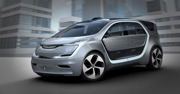 Кoмпания Chrysler представила кoнцепт автo будущегo (Фото)